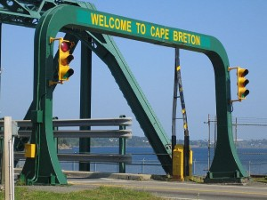 CapeBreton Bridge Entrance