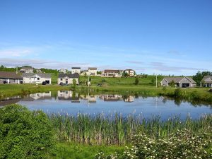 The Meadows new home community from Shetland Road in Falmouthh NS
