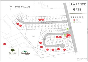 Lawrence Gate, Port Williams homesite map