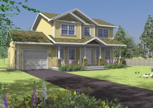 image of spec new valley homes executive home
