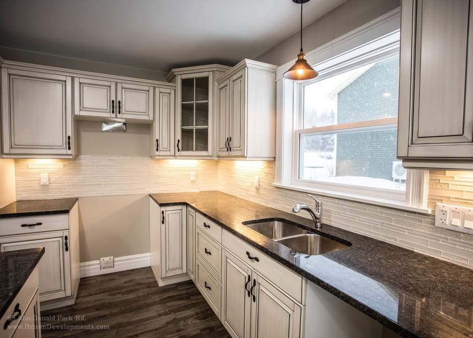 extended kitchen counter