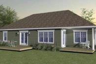 Bungalow Slab E_bs-e-rear-cg