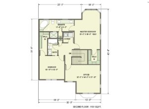 floorplan - 2nd floor