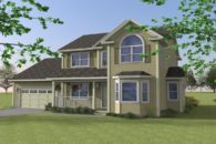 2 storey new home design