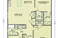 Floorplan for 121 Covey Eagle Landing Kentville NS